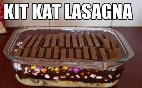 Lasagna Meme - kit kat lasagna memes and comics