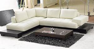 modern black and white sectional l shaped sofa design With 206 modern sectional sofa