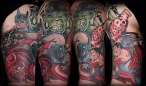 DC vs Marvel by Dan Stewart : Tattoos