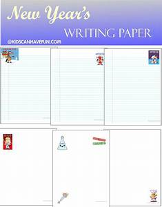 new years writing paper for first grade worksheets