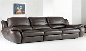 Leather couches costco flexsteel power reclining leather for Costco sectional sofa with recliner