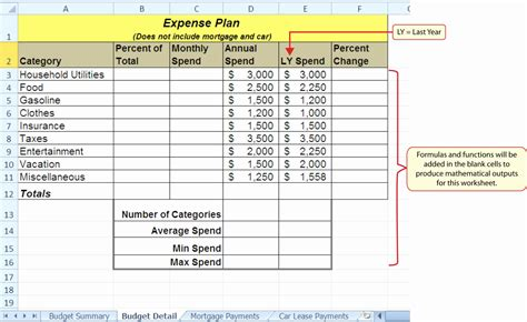 excel spreadsheet exercises  beginners db excelcom