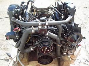 Mercruiser V6 Engine Motor Complete 4 3 3 8  185 Hp