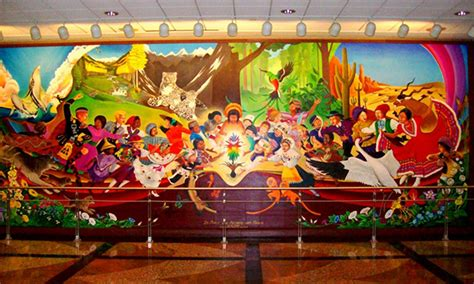 Denver International Airport Murals Painted by Denver Airport Murals And Horrific Morbid Paintings Explained