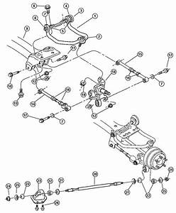 2002 Dodge Stratus Rear Suspension Diagram