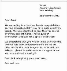 sample congratulation letter