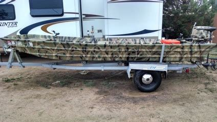 Flat Bottom Boats On Craigslist by 16 Foot Fishing Flat Bottom Boat For Sale In Fort