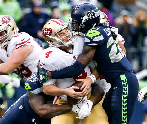 gallery seahawks thump ers   playoff hopes alive