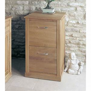 Mobel Oak Two Drawer Filing Cabinet Wooden Furniture Store