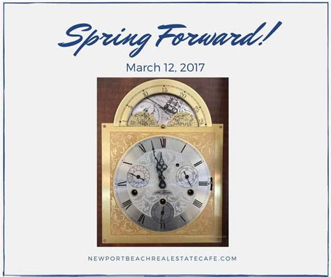 spring march daylight savings time