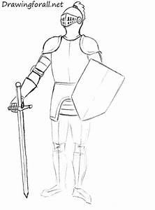 How to Draw a Knight for Beginners | DrawingForAll.net