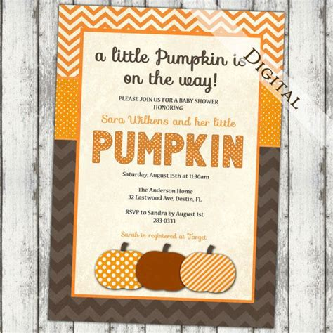 31 Best Fall Baby Shower Images On Pinterest  Fall Baby