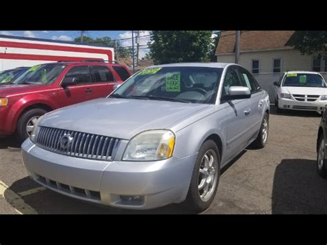 auto air conditioning service 2005 mercury montego electronic valve timing used 2005 mercury montego premier for sale in detroit mi 48210 collins motor sales