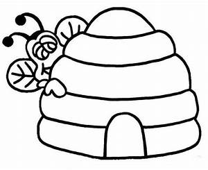 Hive Coloring Page - ClipArt Best