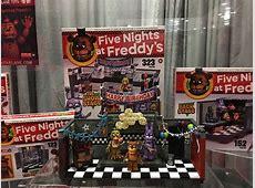 FNAF Building set by McFarlane Toys Five Nights at