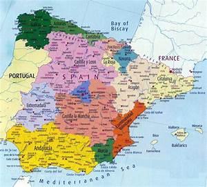 Mapas imprimidos de España con posibilidad de descargar