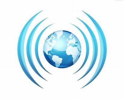 Broadcasting Icon Worldwide Psd Broadcast Waves Symbol