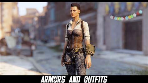 high heels modern fallout 4 mods armors and