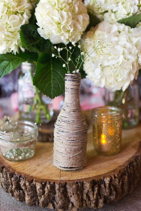 1000 Images About Rustic Wedding Centerpieces On