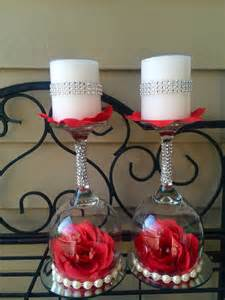 chandelier centerpieces wedding wine glass candle holder wedding decorations