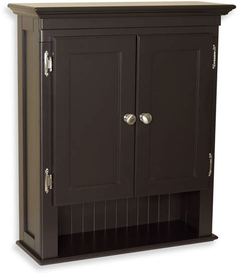 bed bath  fairmont wall mounted cabinet  espresso shopstyle