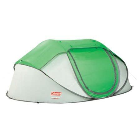 coleman pop up canopy coleman 4 person pop up tent walmart