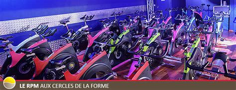 rpm salle de sport le rpm aux cercles de la forme v 233 lo fitness salle de sport