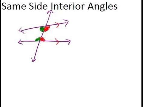 side interior angles lesson geometry concepts