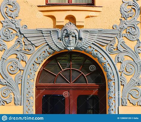 Entrance To The Cat House At 10 Meistaru Iela In The Old ...