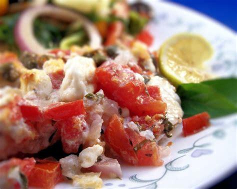 Mediterranean Style Orange Roughy Recipe Foodcom