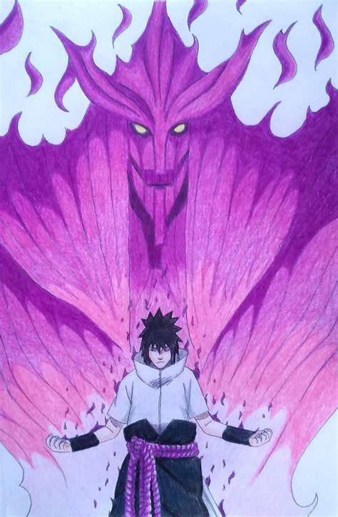 sasuke susanoo narutoshippuden susanoo personagens