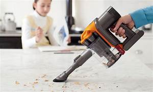dyson dc34 handheld vacuum with combination and crevice With dc34 floor attachment