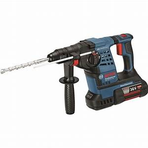Perforateur Makita Sans Fil 36v : bosch perforateur burineur 36v 4ah gbh36v li plus ~ Premium-room.com Idées de Décoration