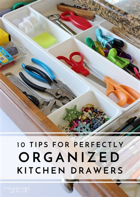 tips to organize kitchen 10 tips for perfectly organized kitchen drawers the 6266
