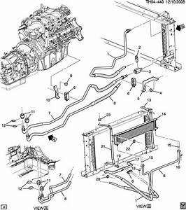 2003 Kodiak C4500 Transmission Oil Cooler Bracket 15114394 15192123