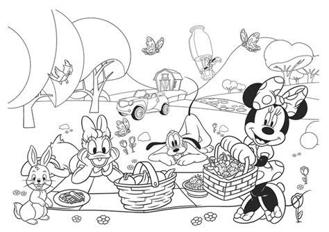 casa di topolino disegno da colorare disegni da colorare disney topolino minnie e pluto picnik