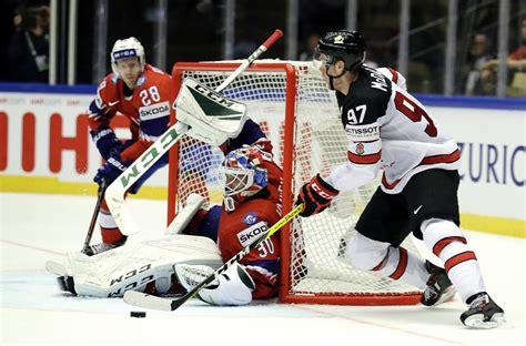 Makdeividam trīs, Horvātam divi - Kanāda noskrien un sagrauj Norvēģiju - Hokejs - Sportacentrs.com
