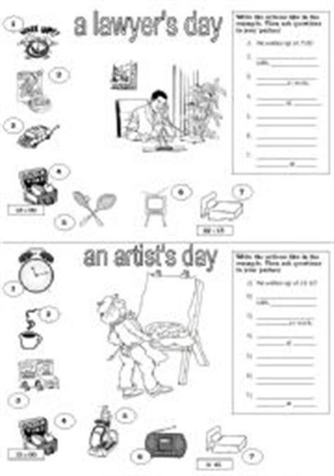 daily routine speaking activity esl worksheet  fede