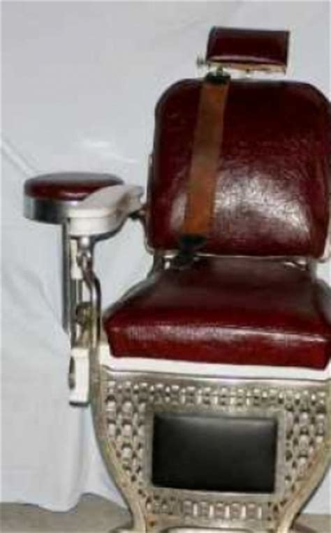 kochs barber chair history theo a kochs barber chair with accessories 359643