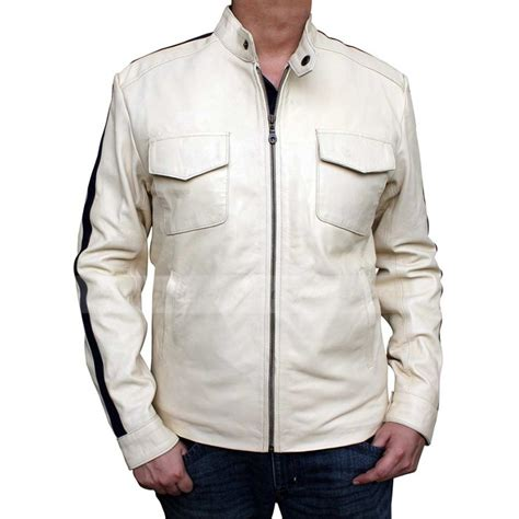 aaron paul need for speed jacket aaron paul need for speed white jacket glamour jackets