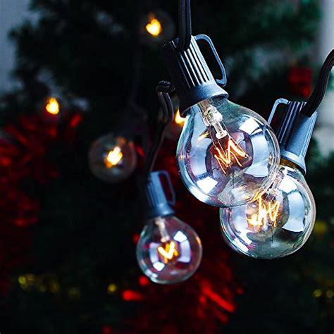 zitrades patio lights g40 globe string lights