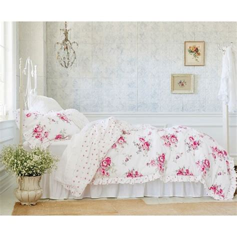 simply shabby chic sunbleached floral comforter set comfortable shabby chic beddings at target homesfeed