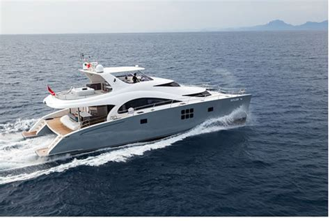 Power Catamaran Charter Greece by Motor Yacht 70 Sunreef Power Skylark Charter Greece Greek