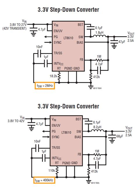 Voltage Regulator Why Lower Switching Frequency