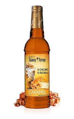 Modern nature's reduced sugar caramel coffee syrup is sweetened with extracts of the stevia leaf. Jordan's Skinny Syrups | Sugar Free Caramel Coffee Syrup ...