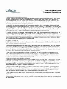 terms and conditions template 5 free templates in pdf With po terms and conditions template