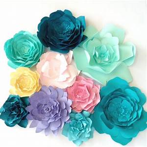 Paper Flowers for weddings, events and home decor PaperFlora