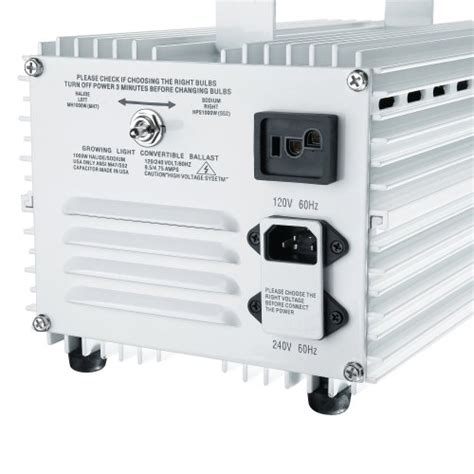 earth worth 1000w magnetic ballast for hps or mh 1000 watt