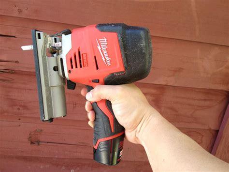 milwaukee cordless jigsaw     diy tool