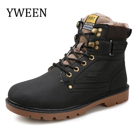 motorcycle shoes for sale yween winter men boots sale lace up solid nubuck